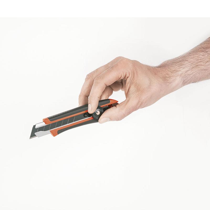 Cúter RATIO Grip 6824 bloqueo manual