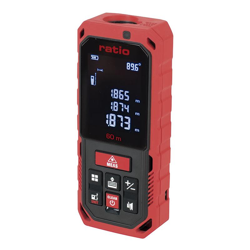 Medidor de distancias láser profesional RATIO RLM315