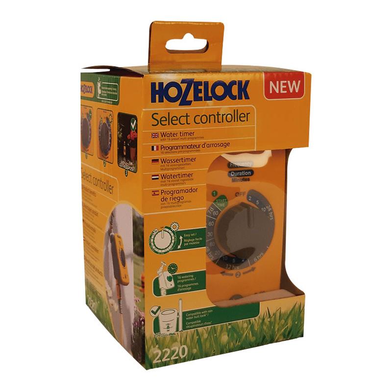 Programador riego HOZELOCK Select Controller