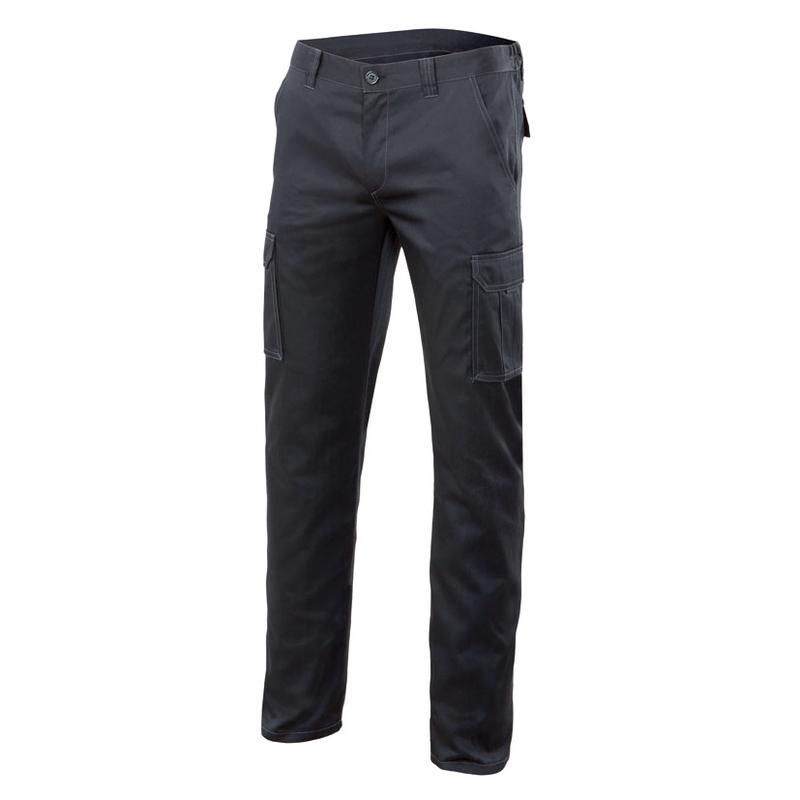 Pantalón multibolsillos VELILLA Stretch negro