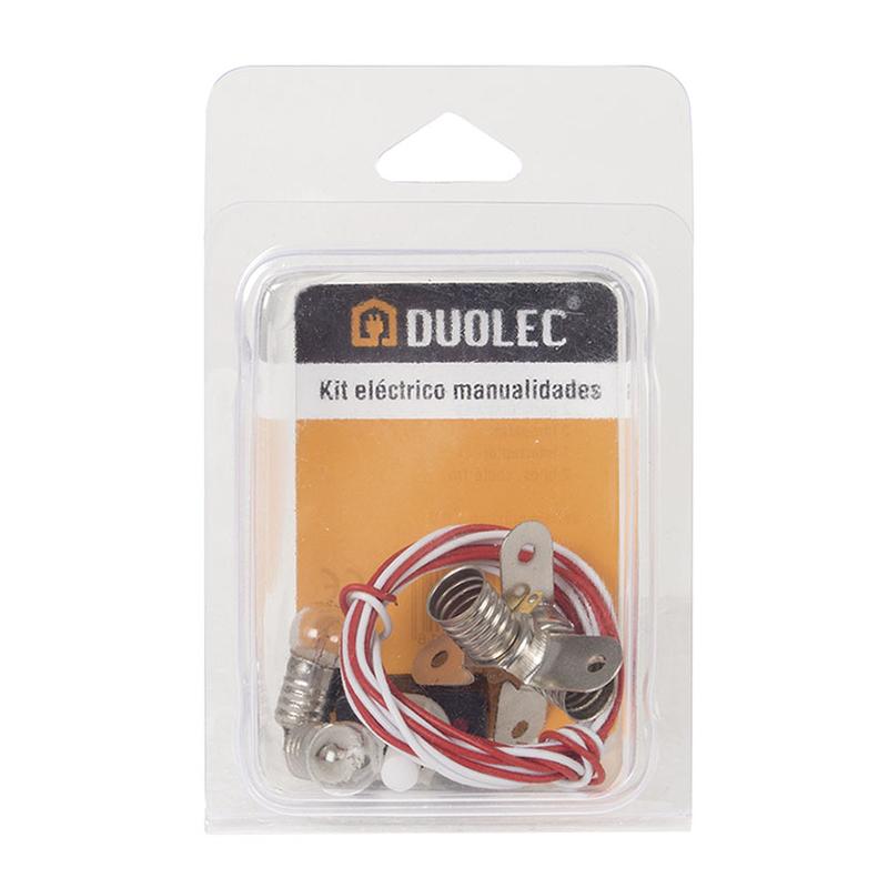 Kit eléctrico DUOLEC manualidades iluminación