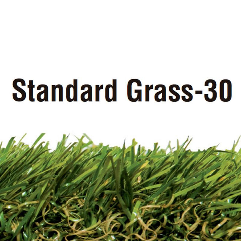 Césped artificial LISTA Standard espesor 30 mm