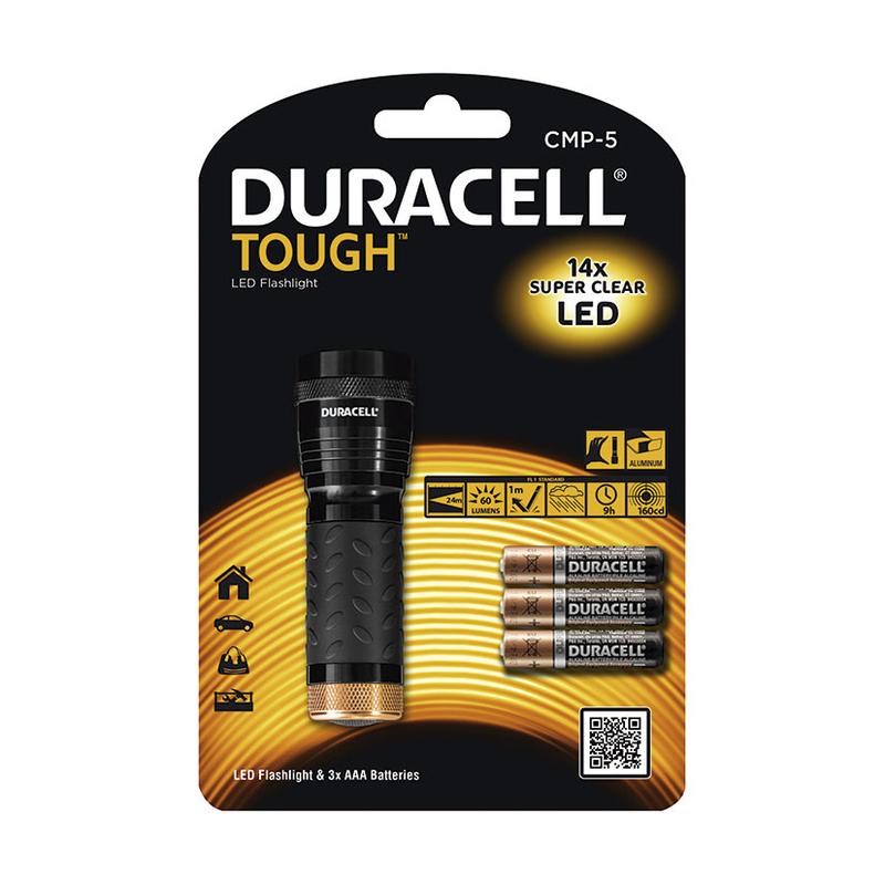 Linterna Tough CMP-5 DURACELL