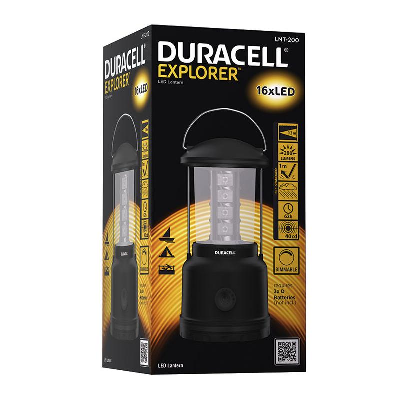 Linterna para camping Explorer LNT-200 DURACELL