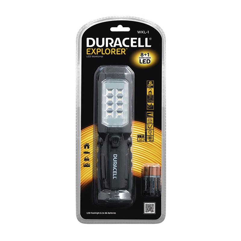 Lámpara portátil de trabajo DURACELL Explorer WKL-1