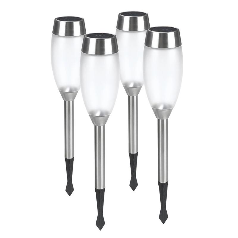 Lámpara metal/cristal DURACELL GL011NP4DN, 4 unidades