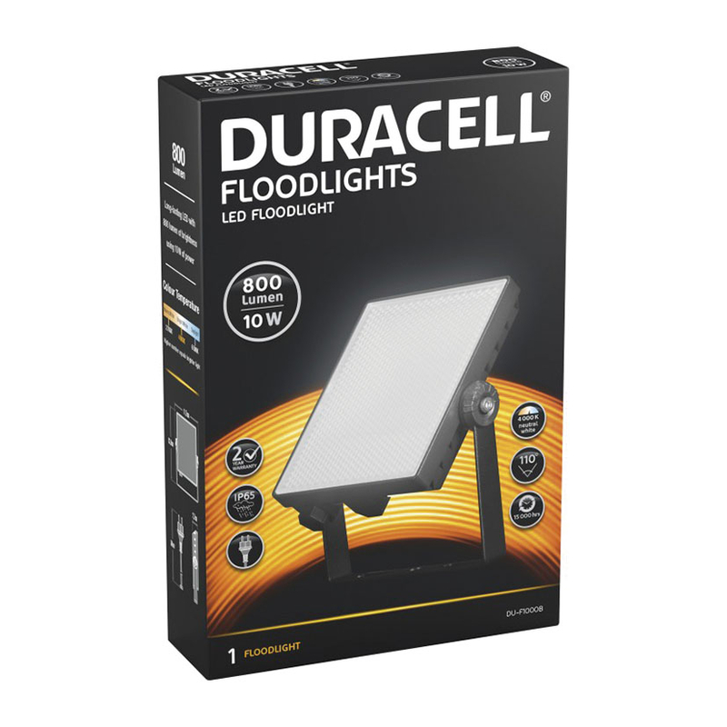 Foco proyector LED DURACELL 10W 800 Lm