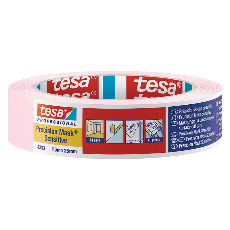 Cinta pintor TESA Precisión Mask Sensitive 50 m x 25 mm