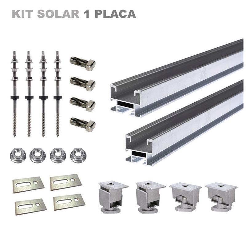 Kit montaje placa fotovoltaica FISCHER