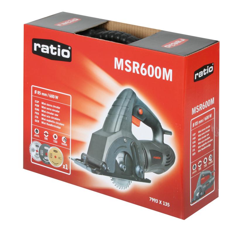 Pack - Minisierra RATIO MSR600M