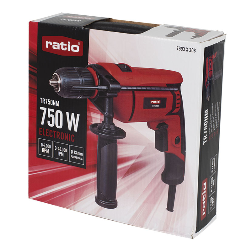 Pack - Taladro con cable RATIO TR750NM