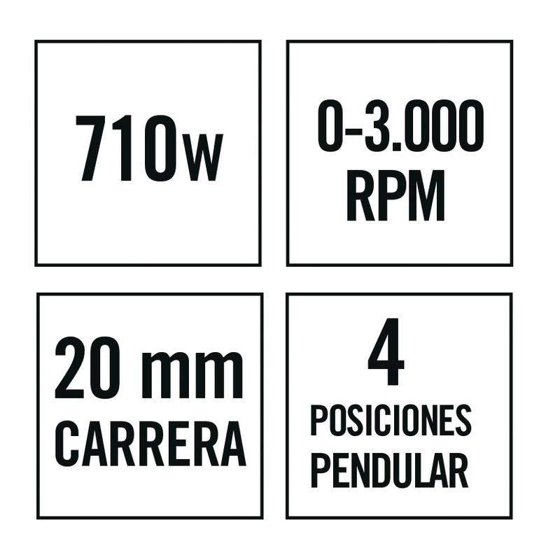 Sierra caladora RATIO SR710NM