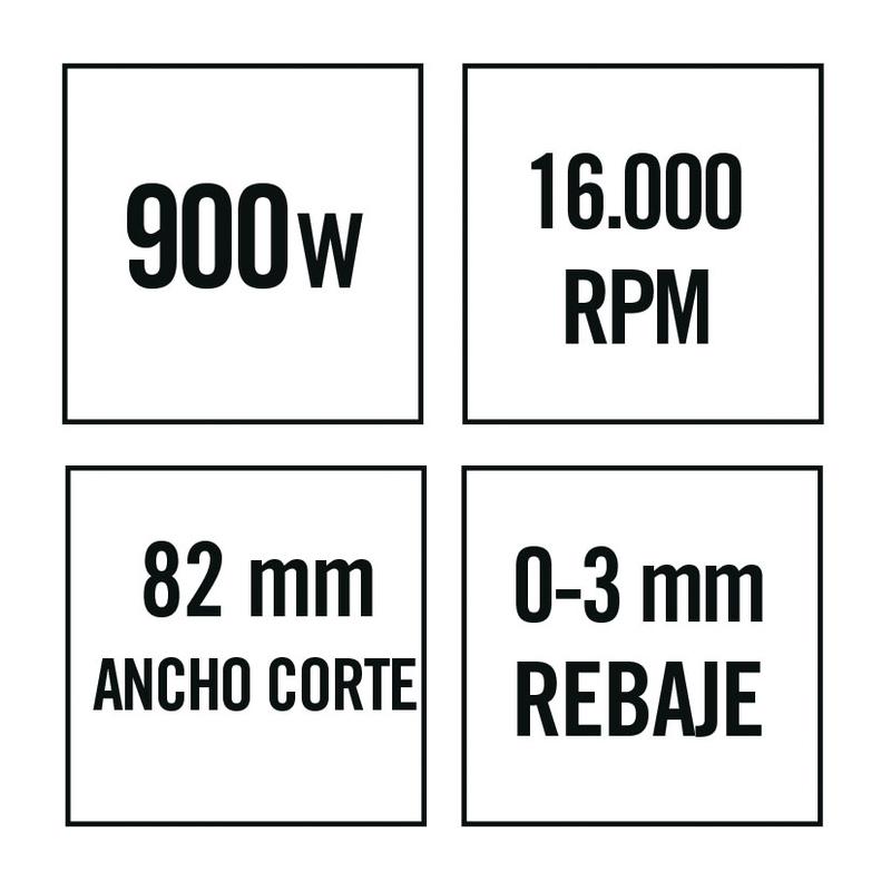 Cepillo eléctrico RATIO CR900NM