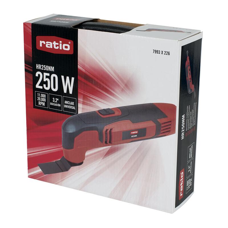 Multiherramienta RATIO HR250NM