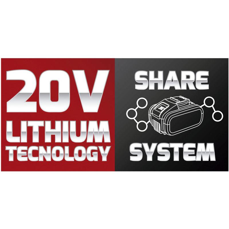 Atornillador impacto batería Share System RATIO XF20-I