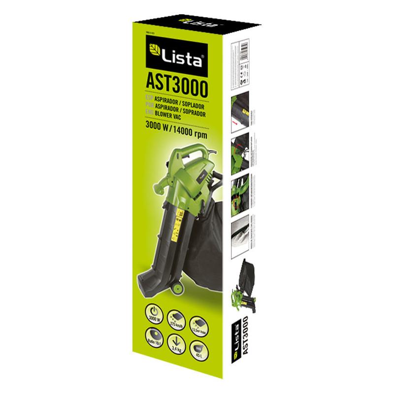 Aspirador/soplador/triturador LISTA AST3000