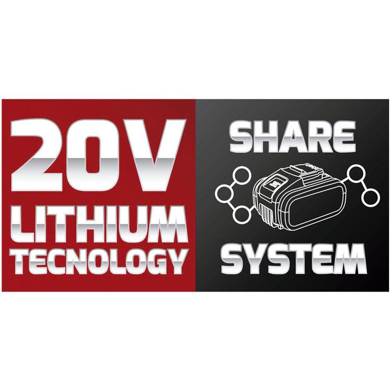 Cortasetos a batería Share System LISTA CSB-20
