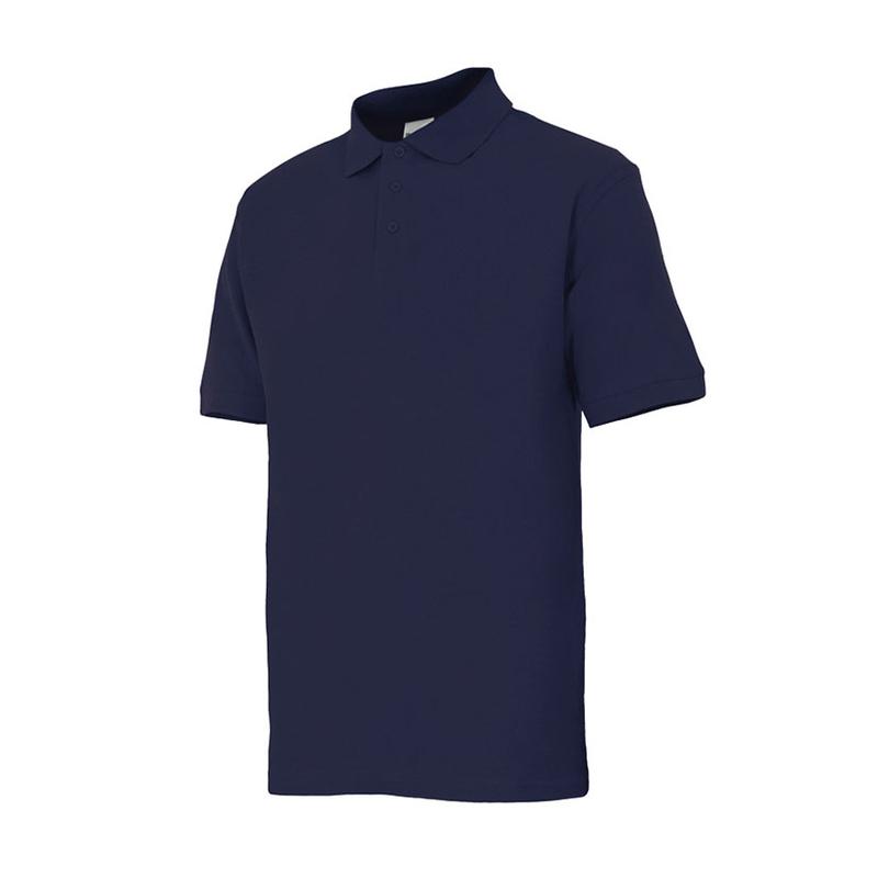 Polo bicolor RATIO RPO-1 Azul marino