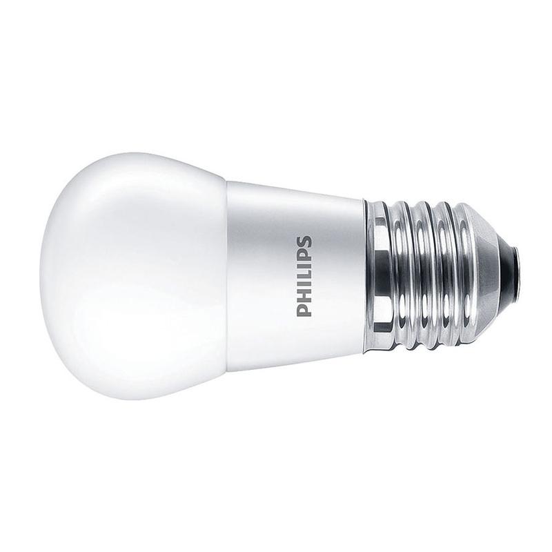 Bombilla LED mini globo PHILIPS E27 luz cálida 5,5w