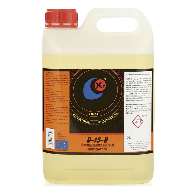 Desengrasante biodegradable neutro SENIGRUP D15-B