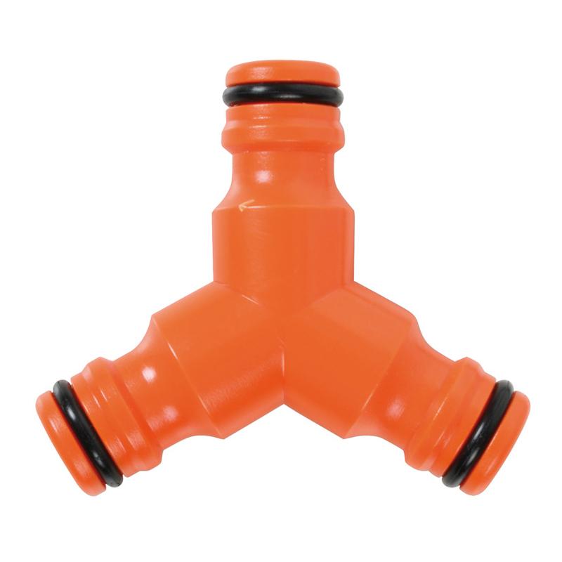 Manguito unión triple LISTA de plástico ABS