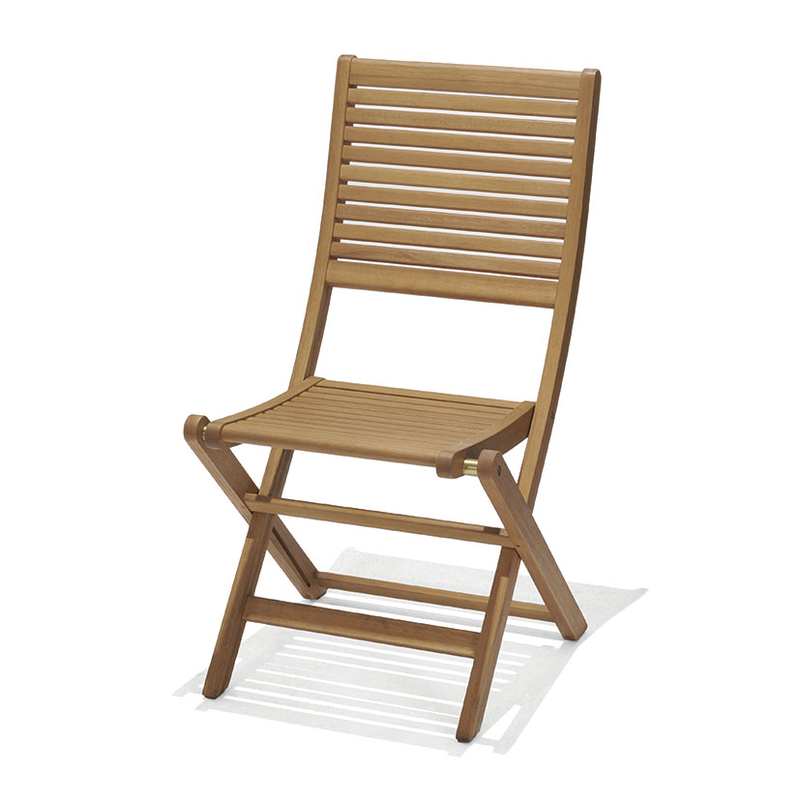 Juego 2 sillas jardín plegables Brisa sin brazos