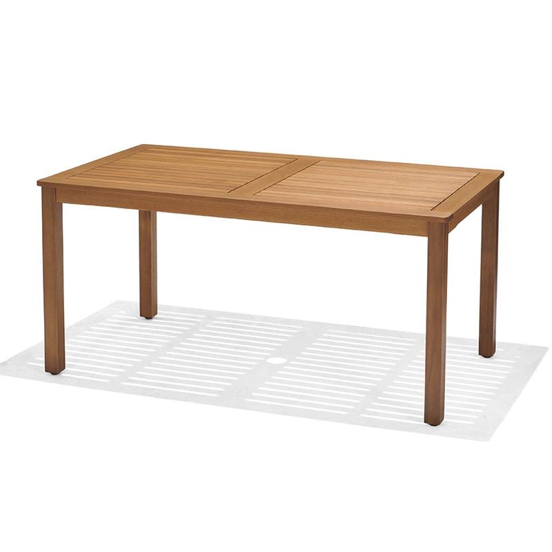 Mesa jardín extensible serie Brisa