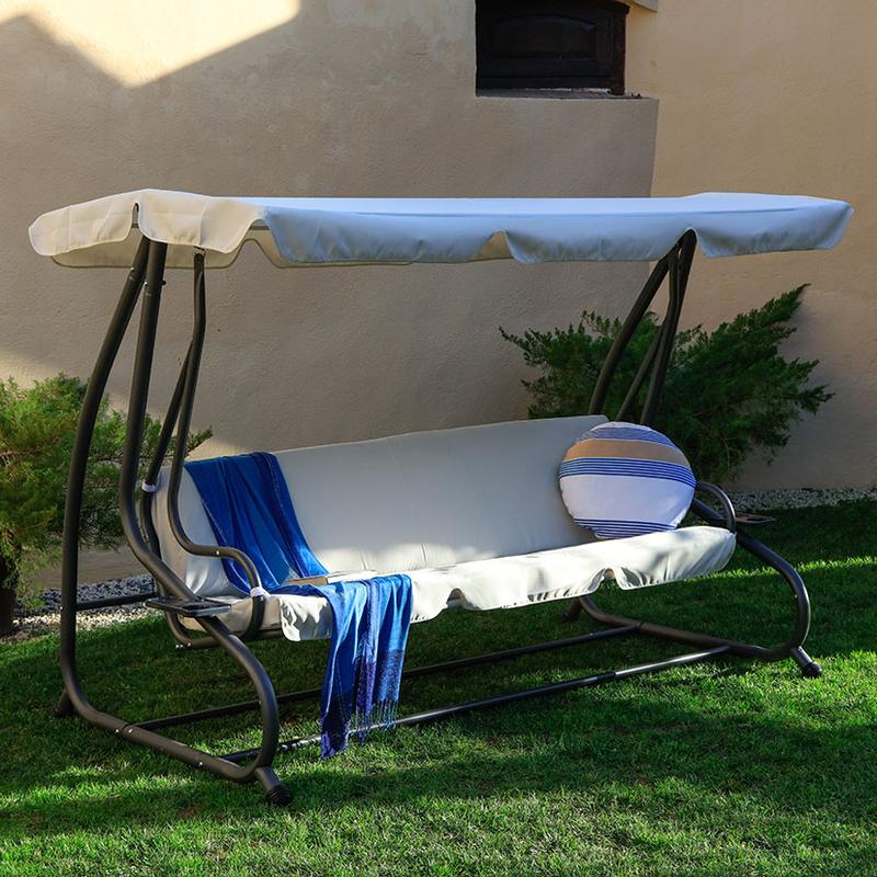 Balancín/cama jardín 3 plazas