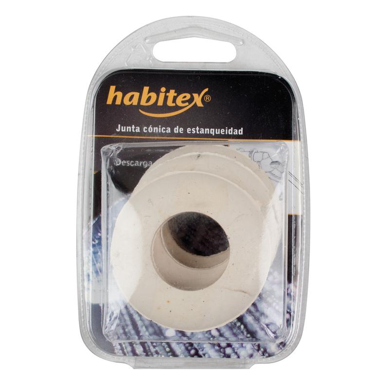 Junta de estanqueidad HABITEX cónica blanca