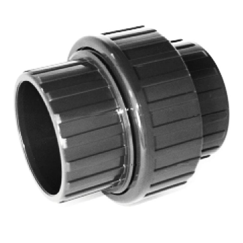 Enlace 3 piezas PVC presión encolar CREARPLAST