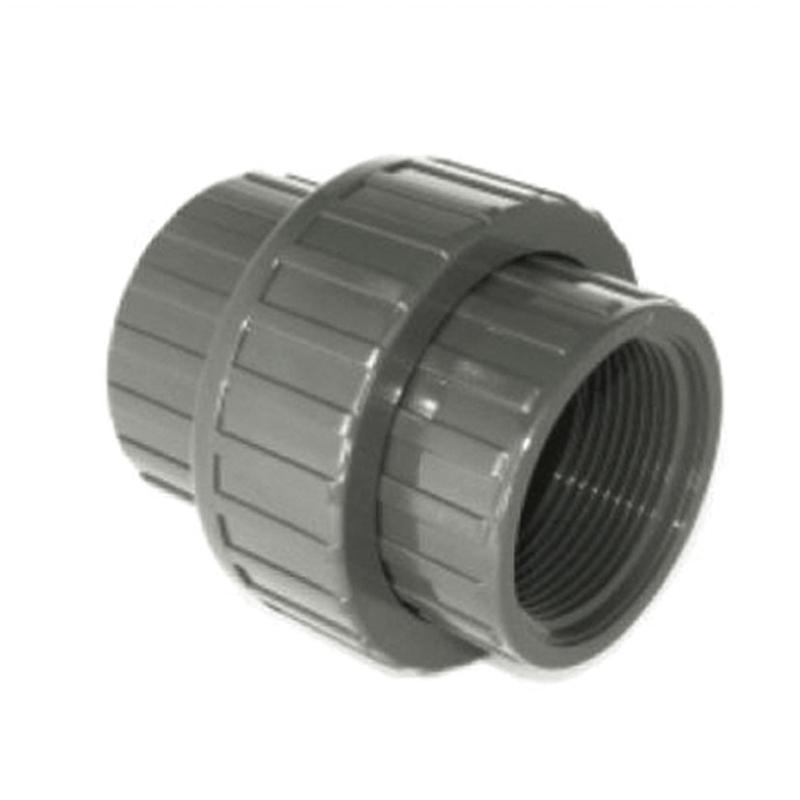 Enlace 3 piezas PVC presión encolar rosca hembra CREARPLAST
