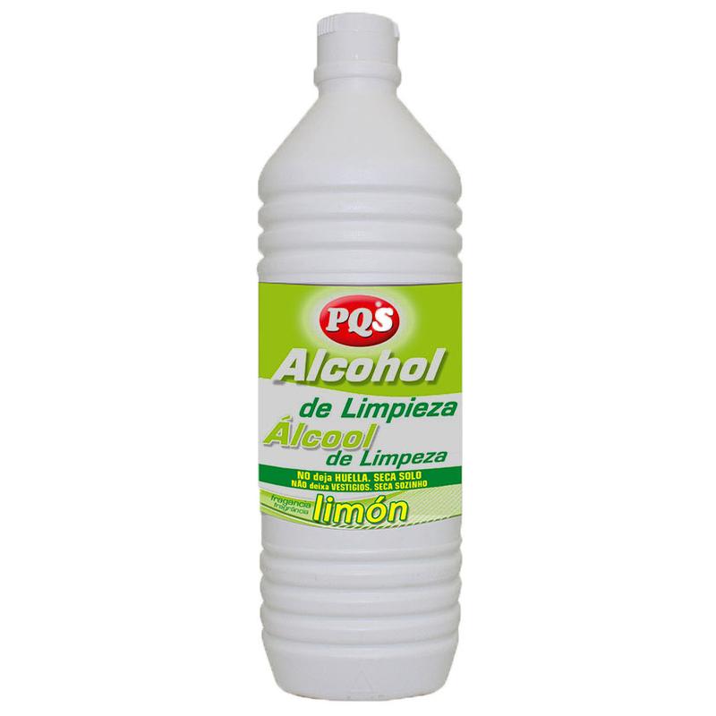Alcohol de limpieza PQS limón