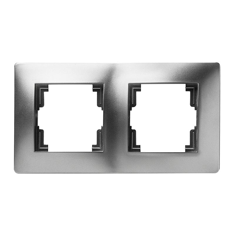 Marco doble FAMATEL Habitat 15 aluminio