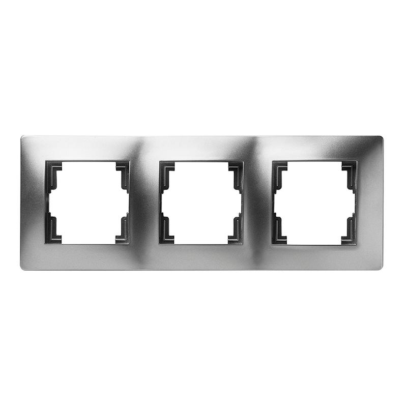 Marco triple FAMATEL Habitat 15 aluminio