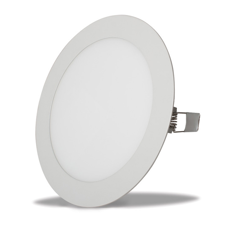Aplique empotrable LED DUOLEC Oporto 22,5cm cromo mate