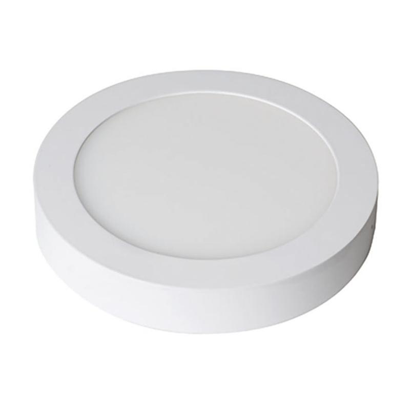 Aplique redondo de superficie LED DUOLEC Milán 17 cm