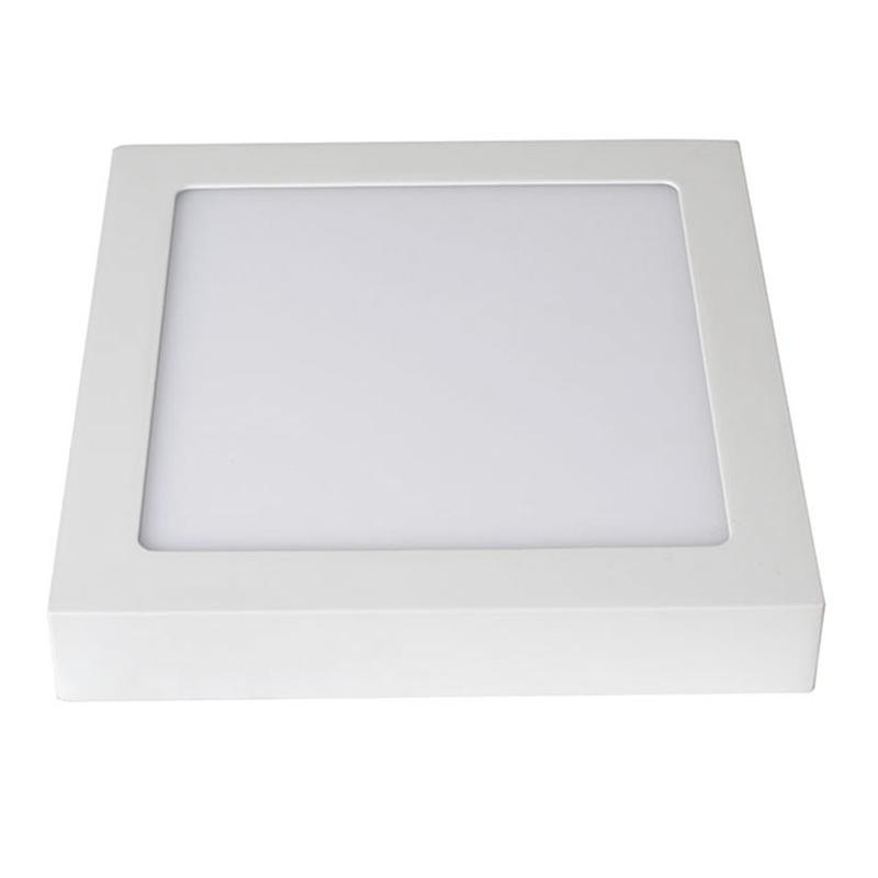 Aplique cuadrado superficie LED DUOLEC Milán 17x17 cm