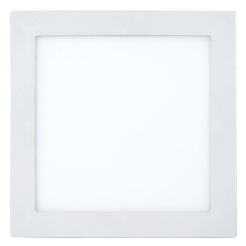 Aplique cuadrado empotrable LED DUOLEC dimable Genova 23 cm