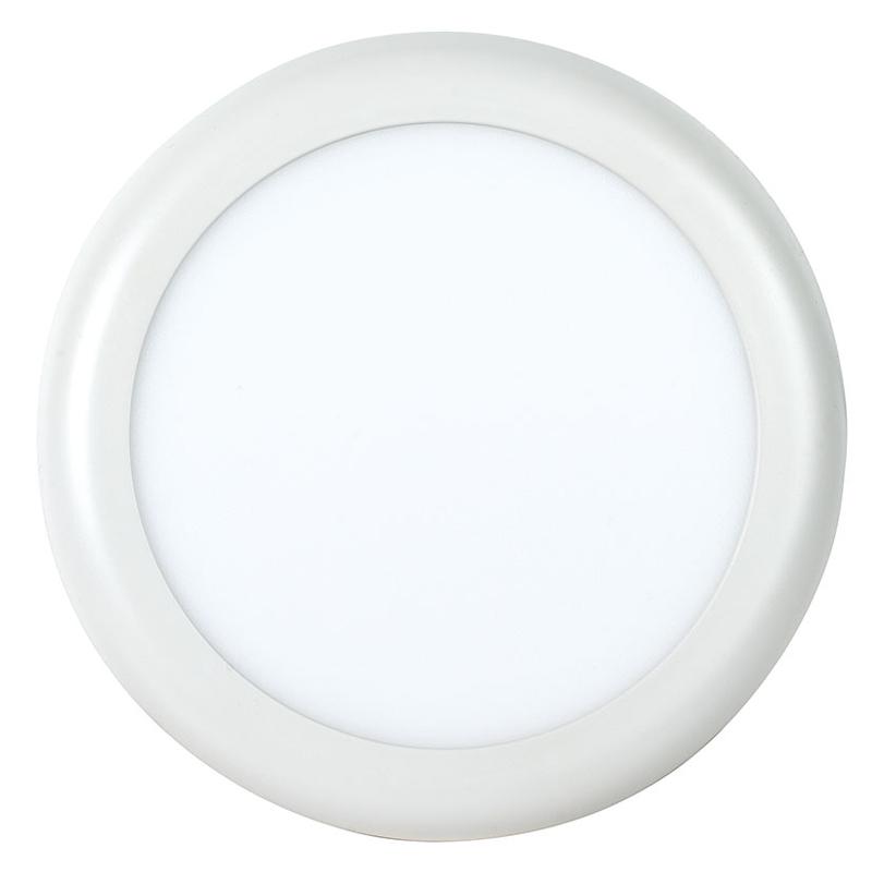 Aplique redondo empotrable LED DUOLEC Genova 18 cm