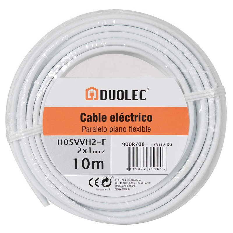 Cable eléctrico DUOLEC UNE H05VV-H2-F
