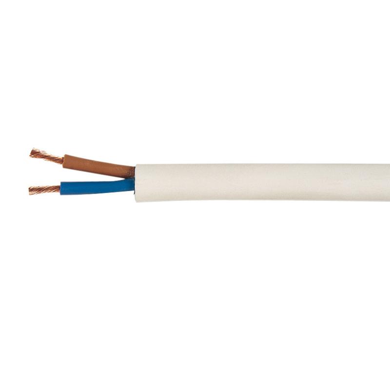 Cable eléctrico CEMI manguera blanca UNE H05 VVF