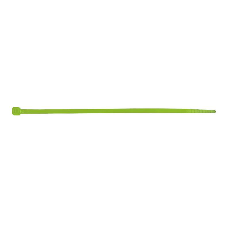 Bridas DUOLEC nilón verde 25u.