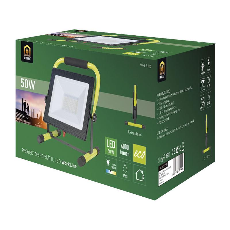 Foco proyector LED DUOLEC WorkLine 5000K 50W 4000 lm