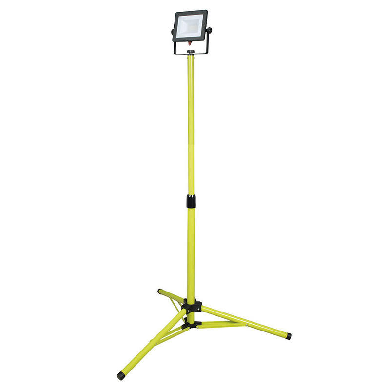 Foco proyector LED DUOLEC WorkLine 5000K 20W 1600 lm con trípode