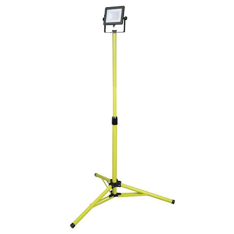 Foco proyector LED DUOLEC WorkLine 5000K 30W 2400 lm con trípode