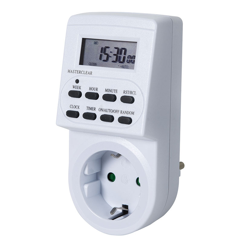 Programador eléctrico digital DUOLEC semanal PD-1