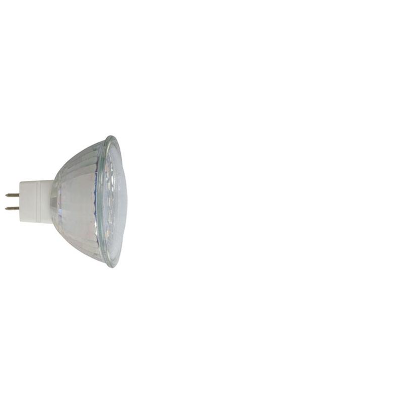 Bombilla LED dicroica regulable DUOLEC MR16 luz cálida 3W