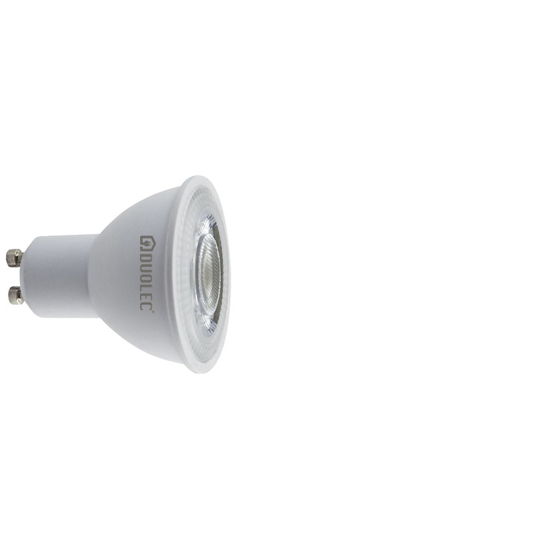Bombilla LED dicroicas 43º DUOLEC GU10 luz fría 5w