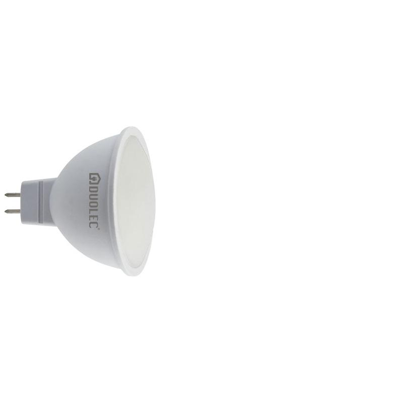 Bombilla LED dicroicas DUOLEC MR16 luz fría 5w