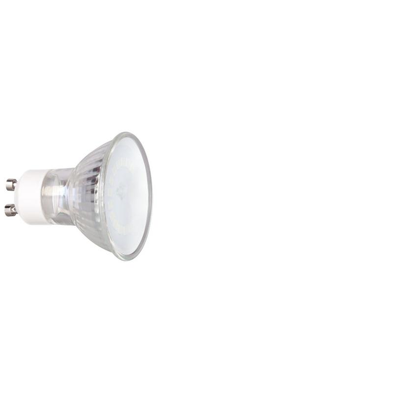 Bombilla LED dicroica 120º DUOLEC GU10 luz cálida 6W